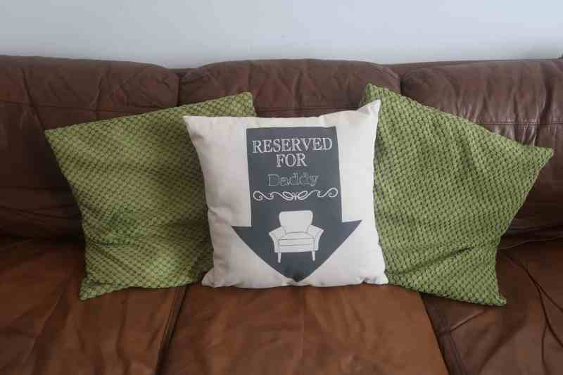"Reserved Arrow 18x18"" Cotton Cushion"