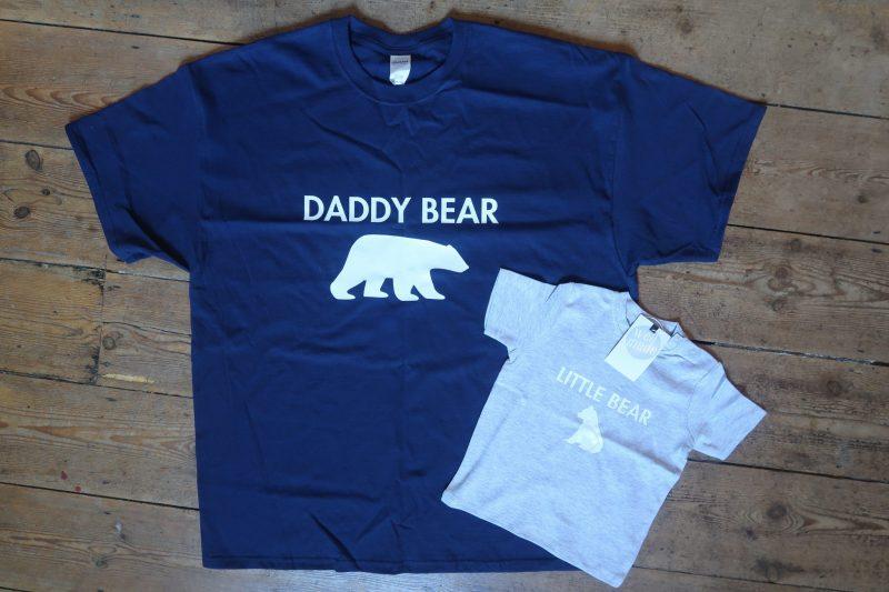 Daddy Bear and Little Bear T-Shirts