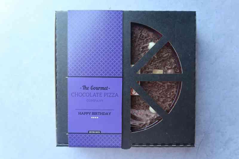 Happy Birthday Chocolate Pizza