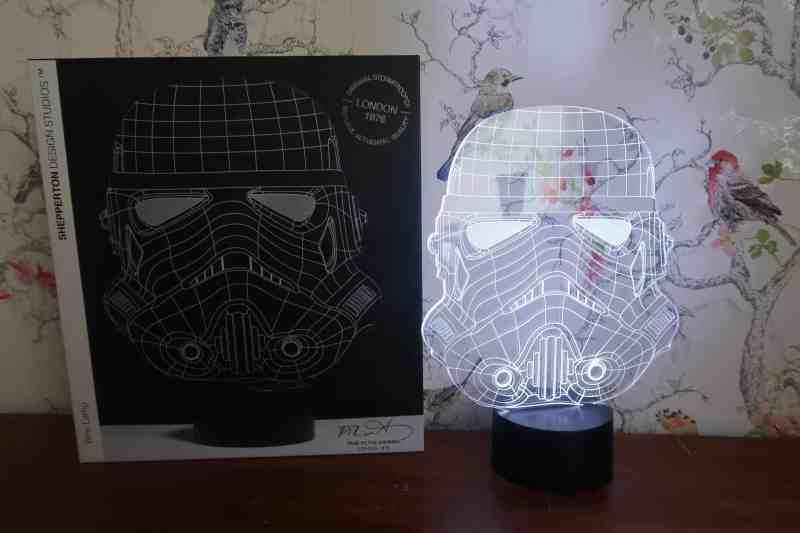 Stormtrooper Wireframe Light