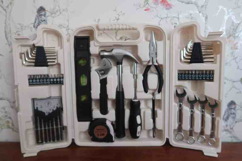 VonHaus Rose Gold 53pc Household Tool Set
