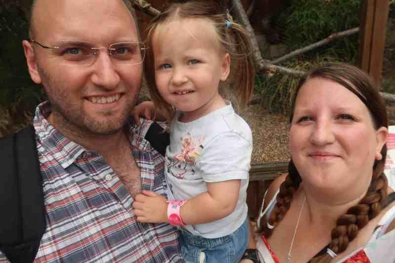 London Zoo Family Photo