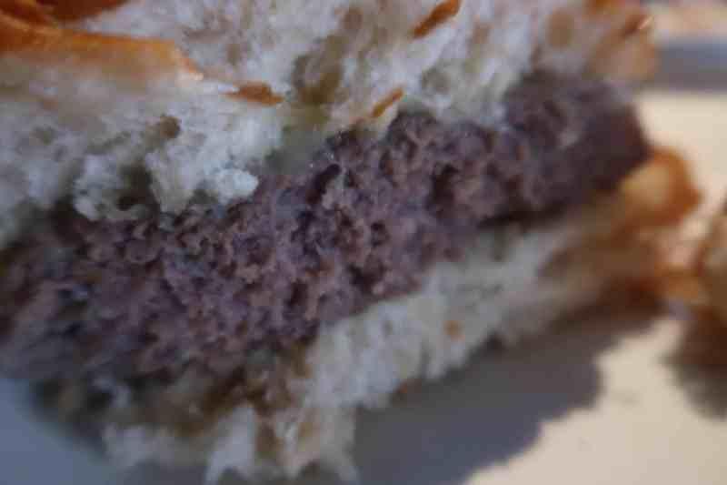 Planet Hollywood Plain Jane burger