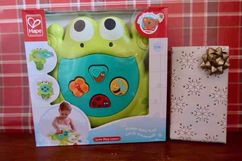 Hape Feed Me Bath Frog Toy