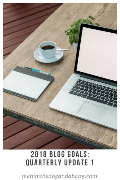 2018 Blog Goals: Quarterly Update 1