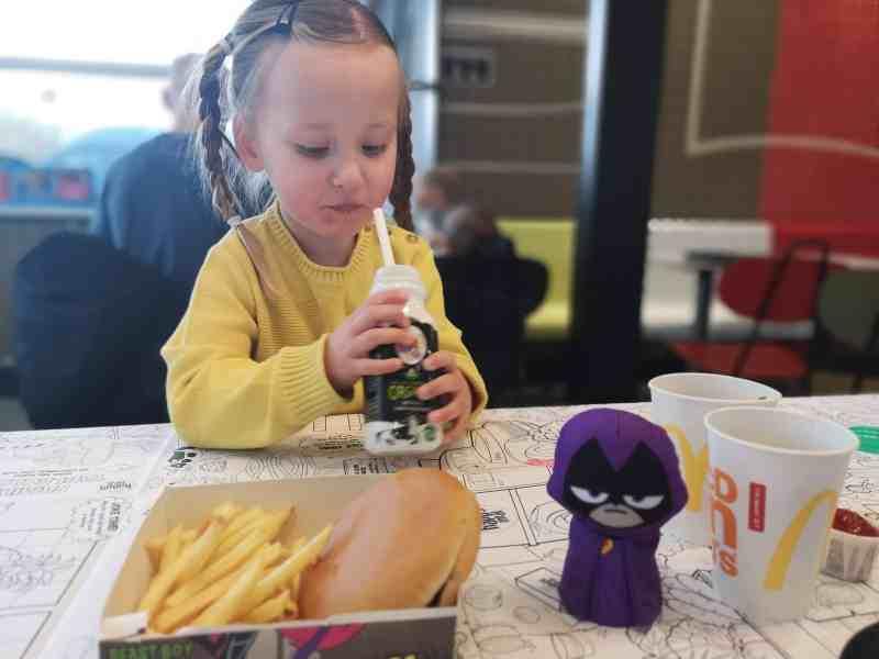 Erin at McDonald's