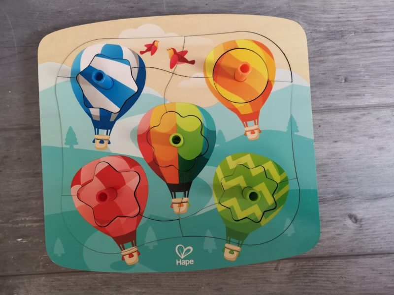 Spinning Balloons Puzzle