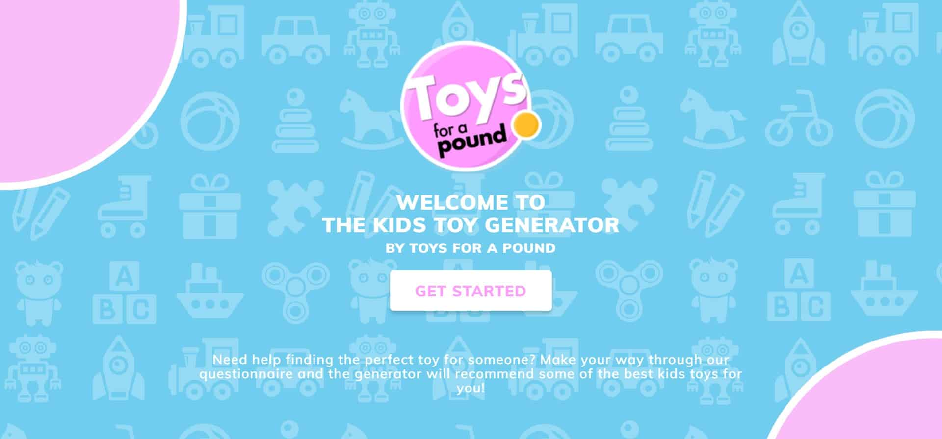 Toys for a Pound 'The Kids Toy Generator'