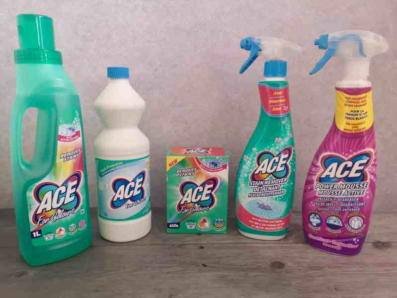 ACE clean UK products