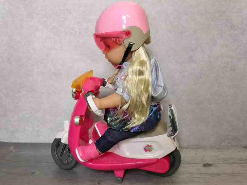 BABY bornScooter and Helmet