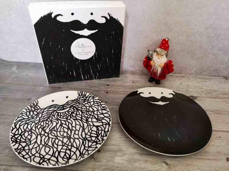 Hubert & George Beard Plate Set