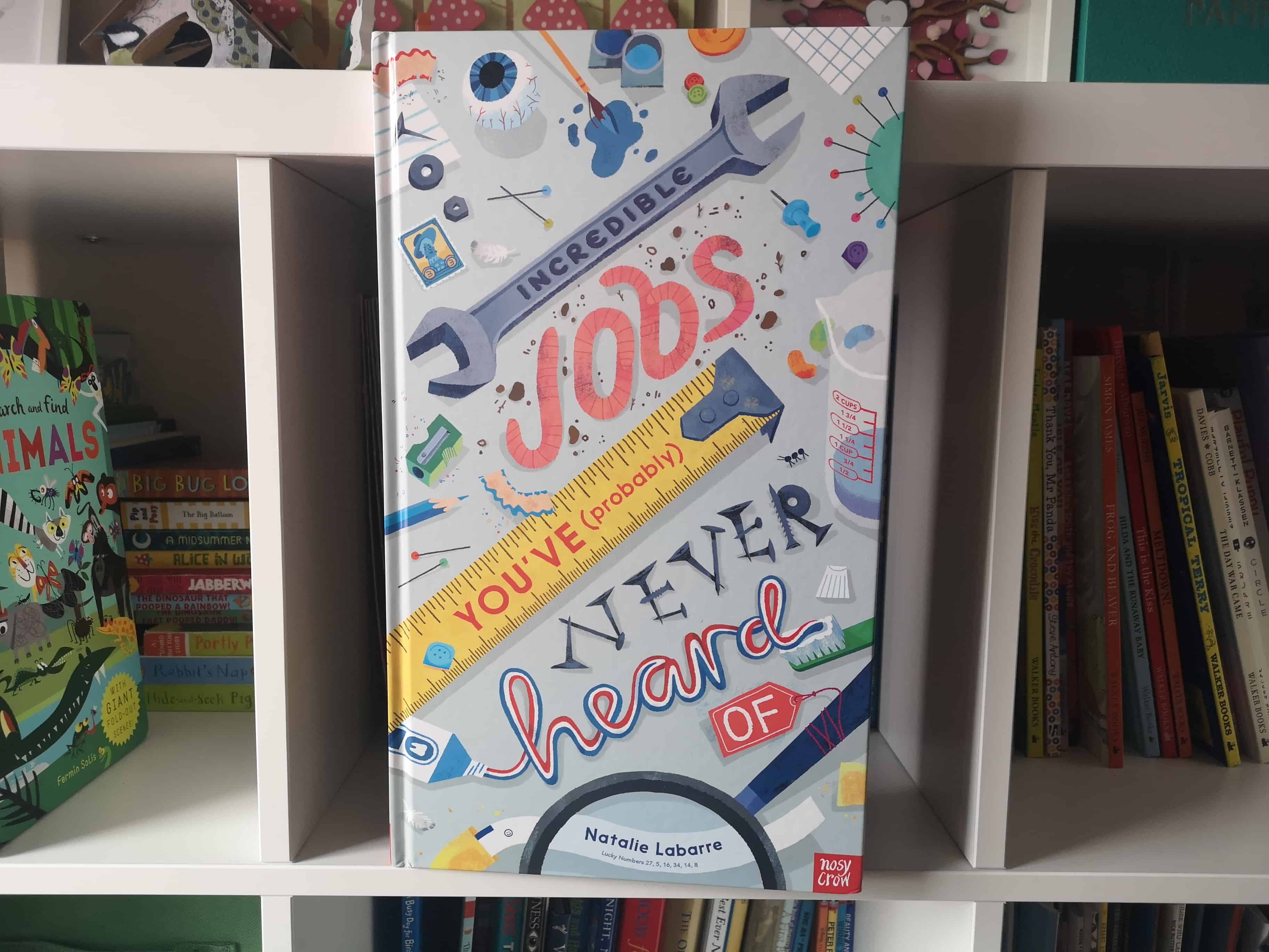 Children's Book Review: Incredible Jobs You've (Probably) Never Heard Of