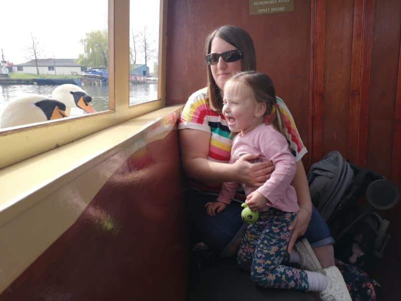 Boat ride in Ely