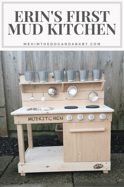 Erin's First Mud Kitchen