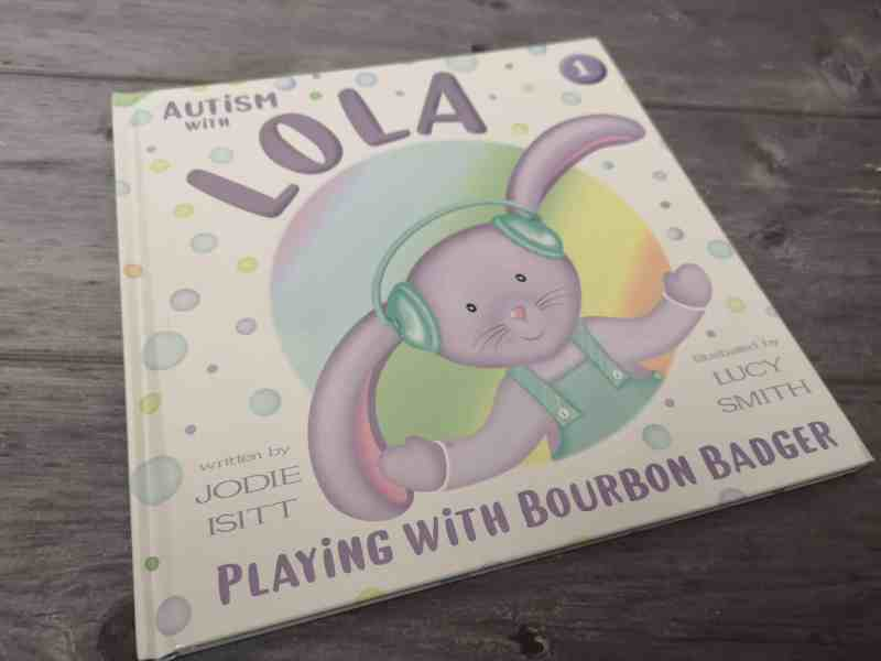 Autism with Lola: Playing with Bourbon Badger