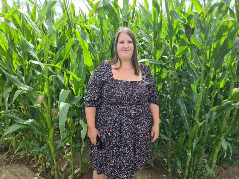 Me in the maize maze