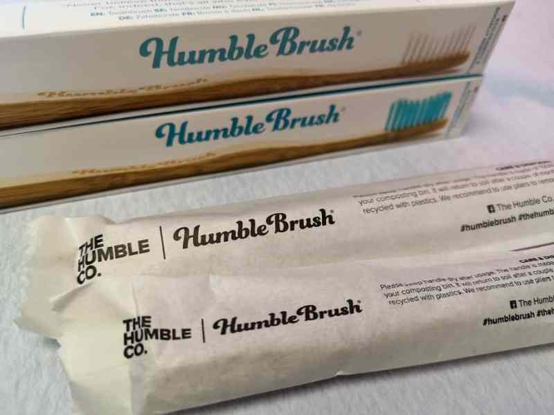 The Humble Co Humble Brushes inside packaging