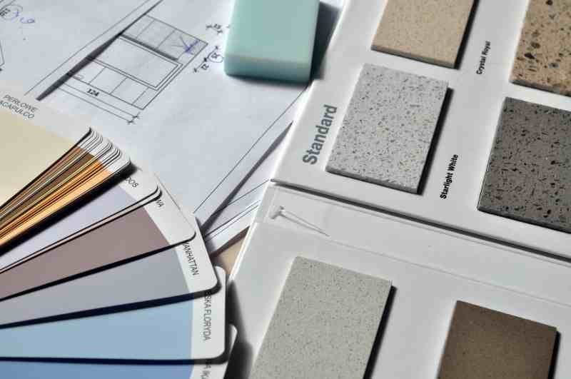 Interior design swatches