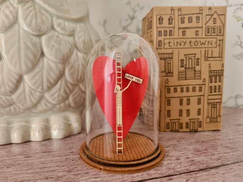 Love You Figurine by Kloche