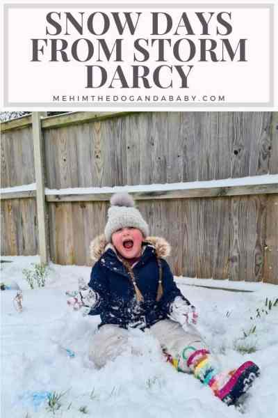 Snow days from Storm Darcy