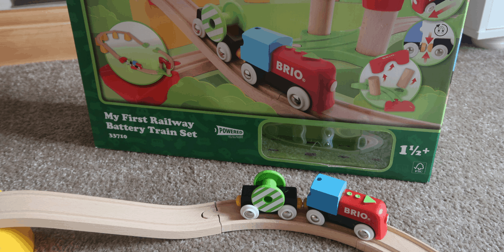 BRIO My First Railway Battery Operated Train Set Review