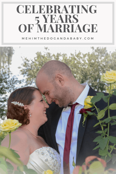 Celebrating 5 Years Of Marriage