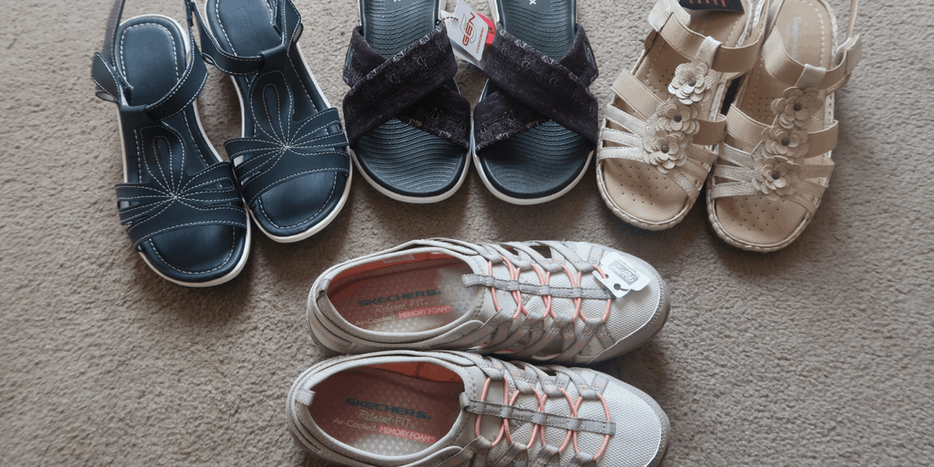 Finding The Perfect Summer Shoes With JD Williams