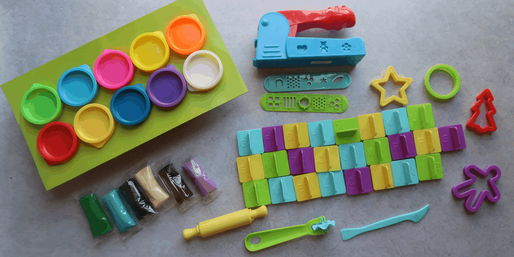 Getting Creative With The Nick Jr. Ready Steady Dough Super Duper Dough Set