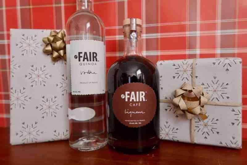FAIR. Café liqueur FAIR. Quinoa Vodka