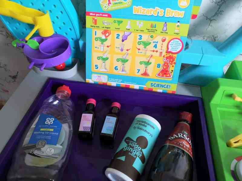 Little Tikes STEM Jr Wonder Lab ingredients