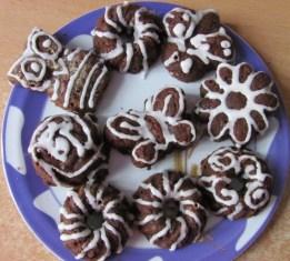 Karotten-Mandelkuchen (mit Schokolade)