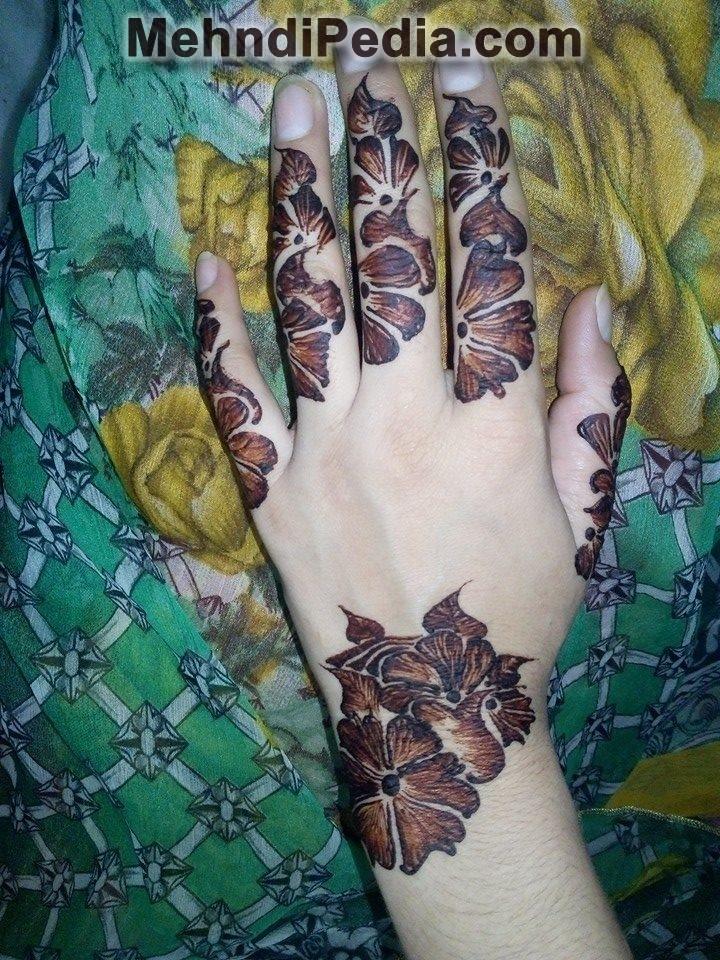 Arabic mehndi designs for left hand images