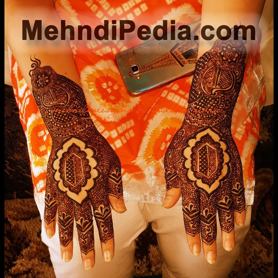 Henna design with net and paisley patterns free wallpapers hd for back hand