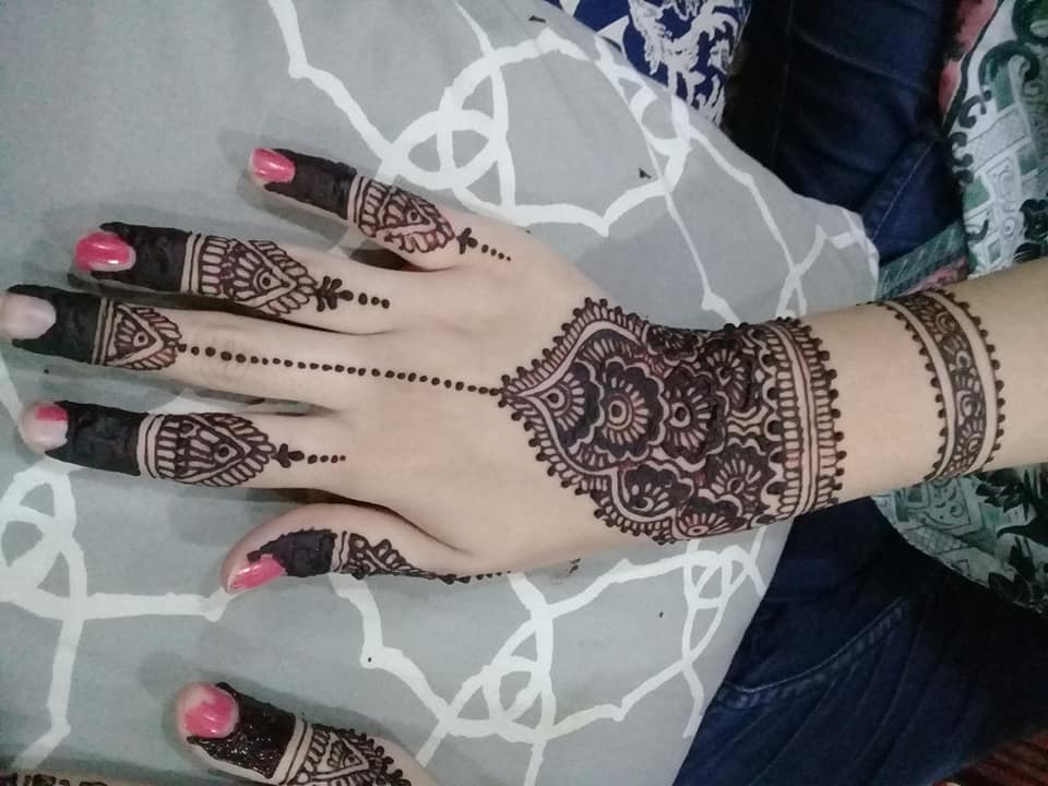 Arabic mehndi designs back hand simple easy only