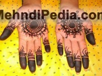 both front hand free Mehndi designs wallpapers