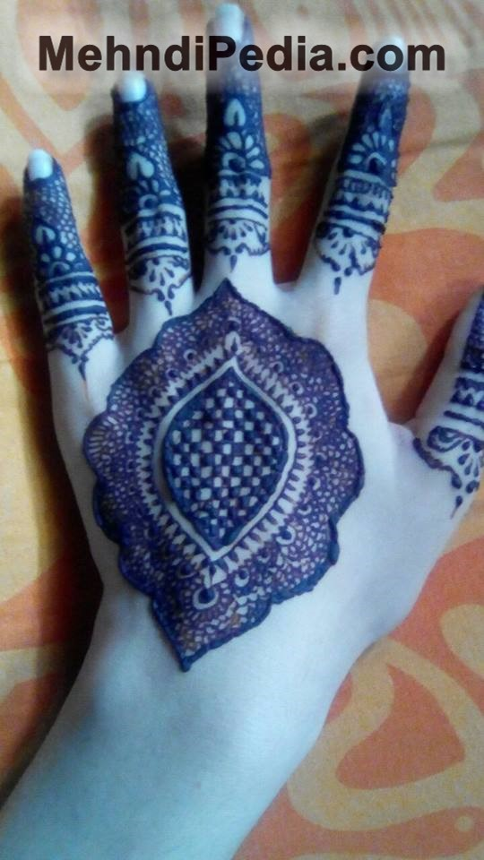 circular mehndi designs for back side left hand new and easy simple