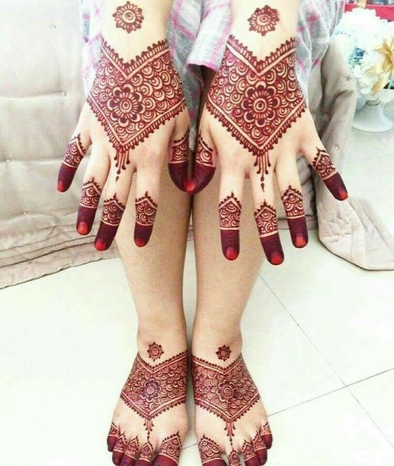 Foot Mehndi Design Simple And Easy Legs Mehndi Desings Mehndi Pedia