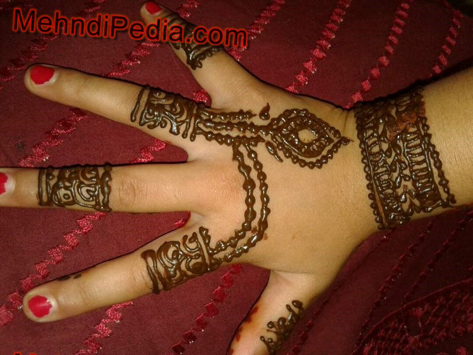 mehandi design for kids back hand beautiful and easy