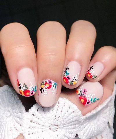 kate moss nail art choice