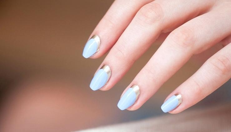 Textured Neapolitan Short Nail Design amazing