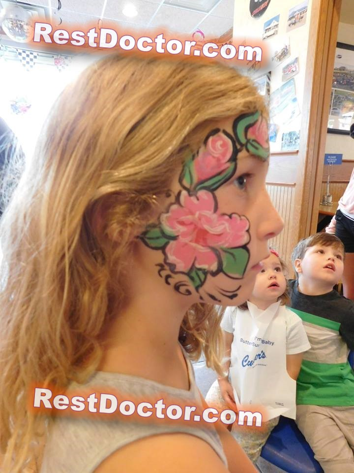 easy face painting for kids