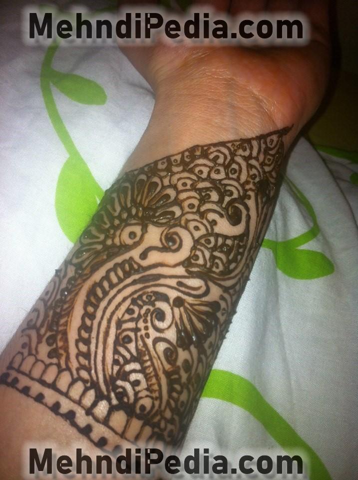 arm mehendi designs arabic sytle