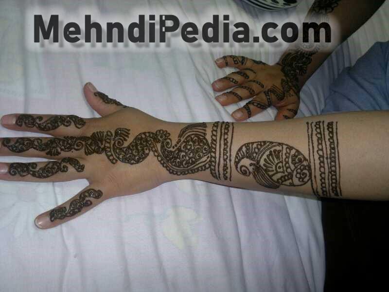 easy arm mehndi designs easy