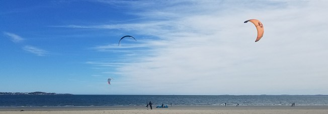 October Kitesurfers