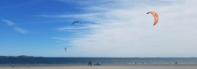 October Kitesurfers