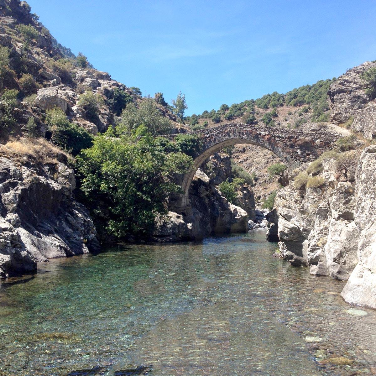 Gumpenwandern in Korsika