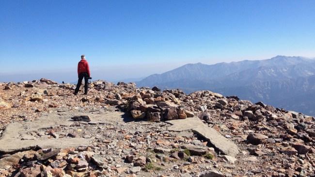 Korsika GR20: Am Monte Cinto