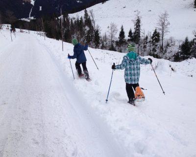 Schneeschuh-Kids