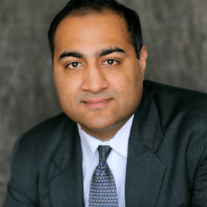 Small Image of Aanand Mehtani, one of the Firm's Senior Partners and employment lawyers