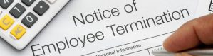 Image for notice of employee termination for a wrongful discharge case